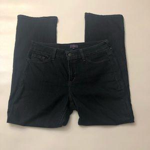 NYDJ size 10 Bootcut wide leg pocket design jeans